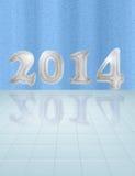 Cartão da água 2014 Imagem de Stock Royalty Free