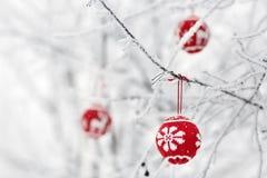 Cartão da árvore de Natal Fotografia de Stock Royalty Free