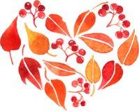 Cartão da aquarela do vetor Imagem de Stock Royalty Free