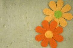 Cartão da flor dos Valentim Fotografia de Stock Royalty Free