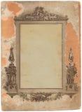 Cartão da foto Fotografia de Stock