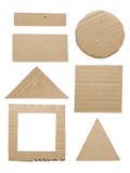 Cartão da geometria Imagens de Stock Royalty Free