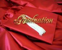 Cartão da graduação Fotos de Stock