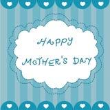 Cartão da mamã Foto de Stock Royalty Free
