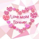 Cartão da mamã Fotos de Stock Royalty Free