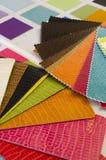 Cartão das cores Fotos de Stock