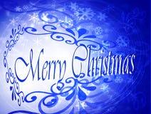 Cartão das decorações do Natal Imagens de Stock