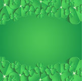 Cartão das felicitações do dia do ` s de StPatrick Foto de Stock Royalty Free
