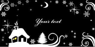 Cartão de ano novo Imagem de Stock