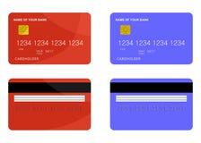 Cartão de banco Foto de Stock