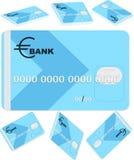 Cartão de banco Fotografia de Stock Royalty Free