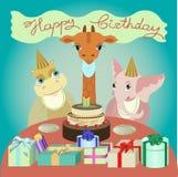 Cartão de Birthay Imagem de Stock