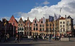 Cartão de Bruges 16 Foto de Stock