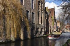Cartão de Bruges 25 Imagens de Stock