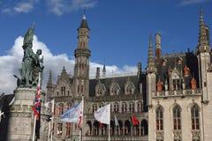 Cartão de Bruges 24 Imagem de Stock Royalty Free