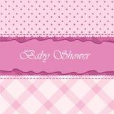 Cartão de chegada do bebê Fotos de Stock Royalty Free