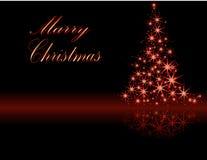 Cartão de Christmasgreeting Fotos de Stock