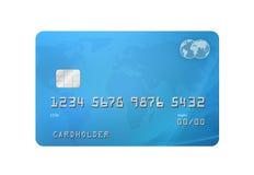 Cartão de crédito Fotos de Stock Royalty Free