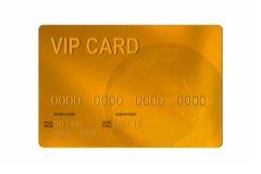 Cartão de crédito do VIP Foto de Stock