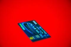 Cartão de crédito do visto Imagens de Stock Royalty Free