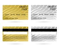 Cartão de crédito moderno, cartão do VIP do negócio, cartão do membro imagens de stock royalty free
