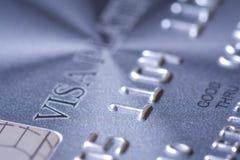 Cartão de crédito plástico fotos de stock royalty free