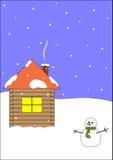 Cartão de cumprimentos Fotos de Stock Royalty Free