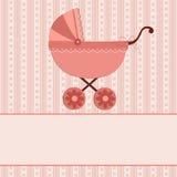 Cartão de cumprimentos do bebê Imagens de Stock