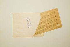 Cartão de data aprazada fotografia de stock royalty free