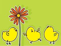 Cartão de Easter Fotografia de Stock