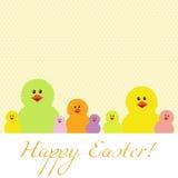 Cartão de Easter Fotos de Stock