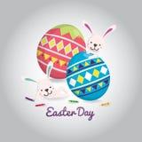 Cartão de Easter Fotografia de Stock Royalty Free
