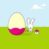 Cartão de Easter bonito Fotos de Stock Royalty Free