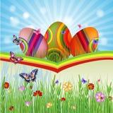 Cartão de Easter com Imagem de Stock Royalty Free