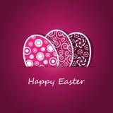 Cartão de Easter feliz Fotografia de Stock Royalty Free