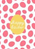 Cartão de easter feliz Imagem de Stock Royalty Free
