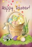 Cartão de Easter No. 1 Fotos de Stock Royalty Free