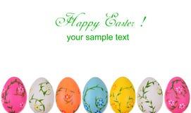 Cartão de Gretting Easter Fotos de Stock