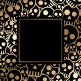 Cartão de Halloween do vetor Imagens de Stock Royalty Free