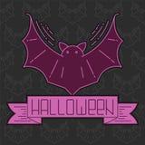 Cartão de Helloween Imagens de Stock Royalty Free