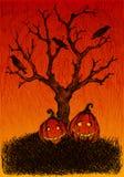 Cartão de Helloween Imagem de Stock Royalty Free