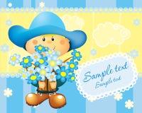 Cartão de Holyday Fotos de Stock Royalty Free
