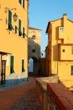 Cartão de Italy fotografia de stock royalty free