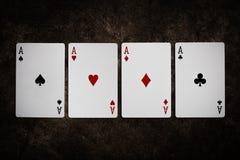 Cartão de jogo Fotos de Stock Royalty Free
