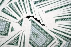 Cartão de jogo Foto de Stock Royalty Free