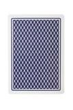 Cartão de jogo da parte traseira Fotografia de Stock Royalty Free