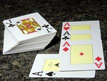 Cartão de jogo de Barajas Foto de Stock