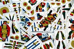 Cartão de jogo venetian italiano Imagem de Stock