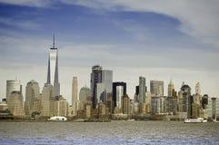 Cartão de Manhattan foto de stock