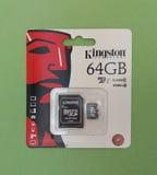 Cartão de memória de Secure Digital SD Fotos de Stock Royalty Free